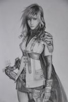 Final Fantasy XIII - Lightning by AzureZefer