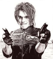 Party Poison - Gerard Way by a-chelsea-grin