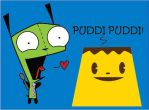 Gir meets Giga pudding by CaptainVendetta