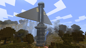 Opus Beta Tower in Minecraft by Tryzon