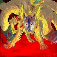 Ninetails by emptyvoids