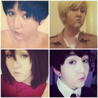 SNK Costest Compilation by titandokis