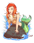 Mermaid by Zwigzy
