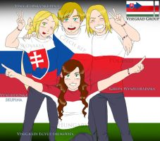 Visegrad Group by Janemin