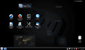 Linux Mint 12 KDE Ghost Protocol 2 by Draco23hack