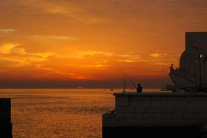 Lisbon, Portugal sunset by MountainStorm