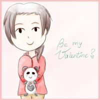 Be my Valentine? *APH-China* by MischievousRibbon