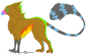 Griffin Adoptable by galexy-candy