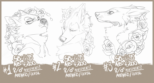 BADGE AUCTION FLOWER EDITION by LiLaiRa