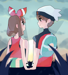 .: ORAS : brendan and may :. by Tokkotea