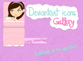 DA gallery icons by CandyBeautiful