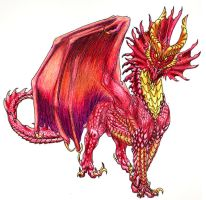 Red Dragon by spellwing777