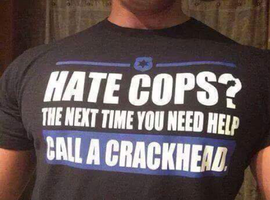 I don't hate all cops by UncaMorscotta