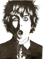 billie joe amstrong by Throne-of-the-Roses