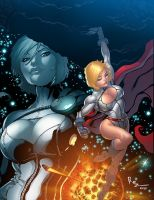 Commission: Power Girl by K-Bol