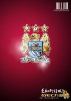 Manchester city by Stephen-Tian