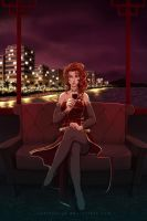 Tightrope - Red Wine by Spartaphyx