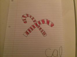 Candy canes by Callewis2