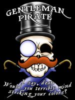 Badge Design: Gentleman Pirate by bar1scorpio