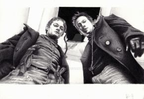 The Boondock Saints by Paintpaul