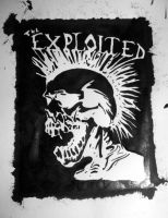 The Exploited in ink.. by ASFmaggot