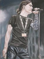 Young Ville Valo by lackasleep