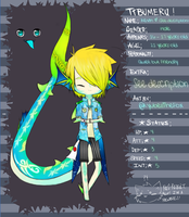 [Tibumeru] Kevin Application (Temp. Chibi Vers.) by sprootii