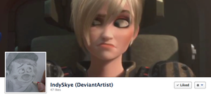 One Dymamite Facebook Cover by indySkye