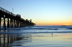 oceanside california pier by ShannonCPhotography