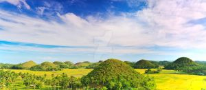 Chocolate Hills III by MotHaiBaPhoto