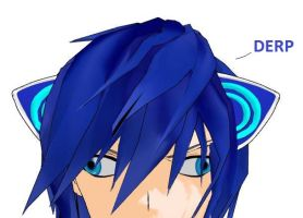 Kaito = DERP by Rayne-Ray