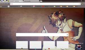 Skye theme google chrome by alechivis