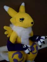 Renamon Plush by Eightohsixtythird