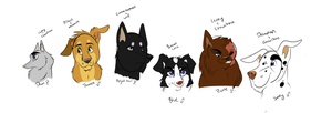 The Dogs Of Haven Cast - Concept by Wolf-Chalk