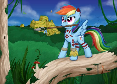 Tribal Dash by OBCOR