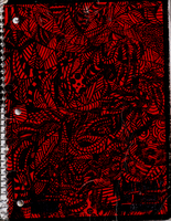 Red Notebook Cover by Nilaeriadru