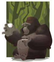 Gorilla by Jtown67
