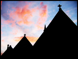 St. Mary's Silhouette by LadyElleth