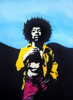 Jimi Hendrix For Sale by ianwilgaus