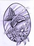 butterfly design by WillemXSM