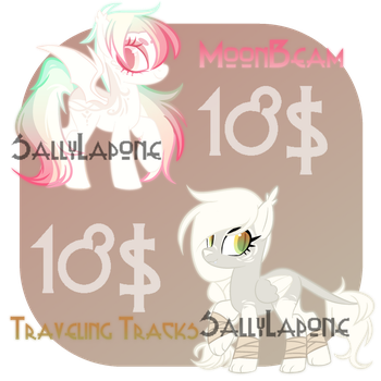 Adoptable Duo! #36 [CLOSED] by SallyLapone
