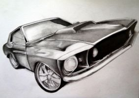 Ford Mustang by wiltord-x