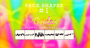 .+ Pack Shapes (Formas personalizadas) #1 by USucks