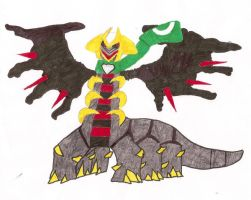 Shadow The Giratina by ThePokemonTrainer