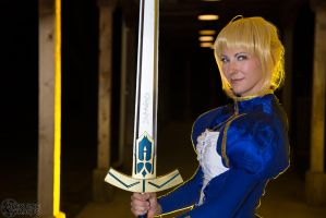 Saber- Print available 8 by Cosmic-Empress