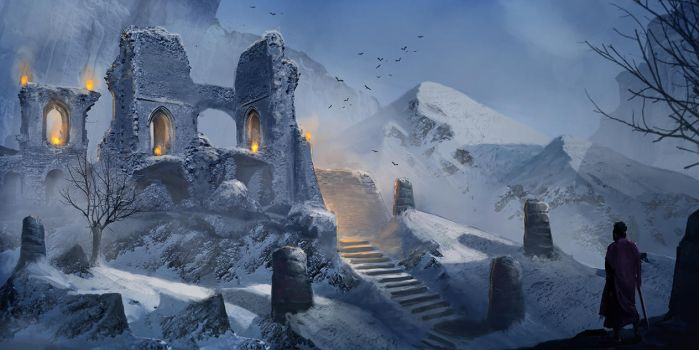 Winter Ruins by LMorse