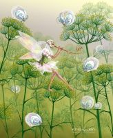 Fairy in dill by jen-and-kris