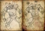 Steampunk Cylon by Promus-Kaa