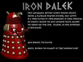 LXD Origins: Iron Dalek by IcehawkPrime