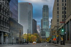 late afternoon Montreal by Rikitza
